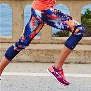 Athleta lava sonar Cropped leggings